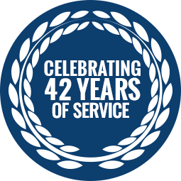 Celebrating 42 years of service